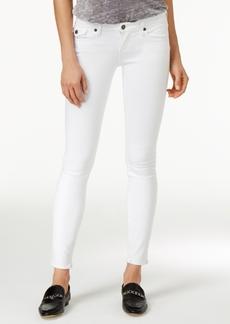 True Religion Casey Optic White Wash Super-Skinny Jeans