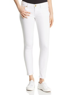 True Religion Casey Super Skinny Jeans in Optic White