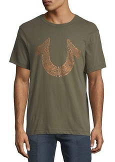 True Religion Circuitz Horseshoe Graphic T-Shirt