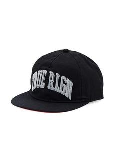 True Religion Collegiate Arched Logo Baseball Cap