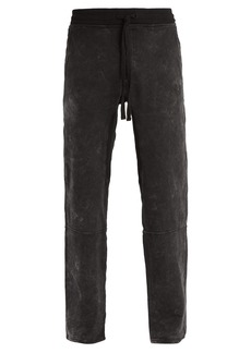 True Religion Contrast-stitch cotton-jersey track pants