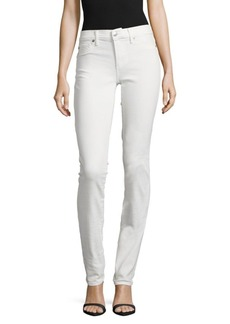 True Religion Cora Straight-Fit Denim Pants/White