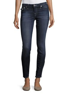 True Religion Cotton Blend Cropped Jeans