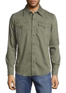 True Religion Cotton Button-Down Shirt