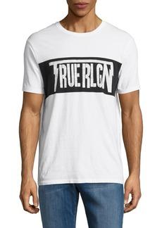 True Religion Cotton Logo Tee