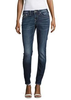 True Religion Curvy Skinny-Fit Five-Pocket Jeans