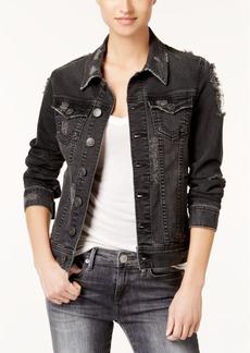 True Religion Dani Distressed Denim Jacket