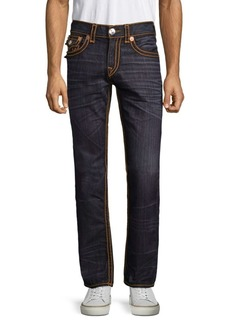 True Religion Straight-Leg Jeans