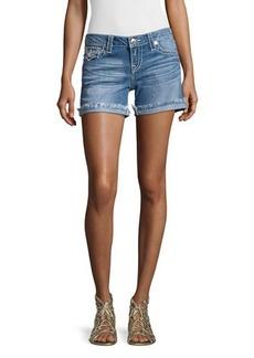 True Religion Denim Cut-Off Shorts