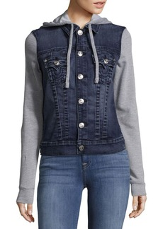 True Religion Denim Fleece Jacket