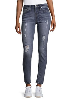 True Religion Destroyed Super Skinny Jeans