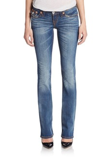 True Religion Distressed Bootcut Jeans