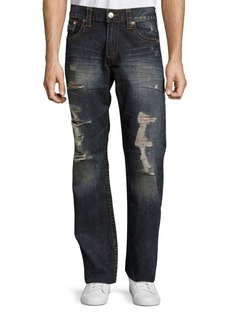 True Religion Distressed Cotton Jeans