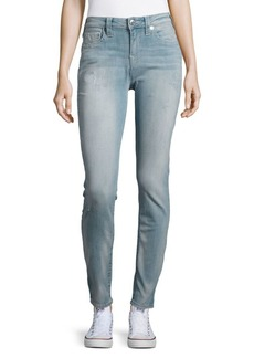 True Religion Distressed Faded Jeans — Light Wash