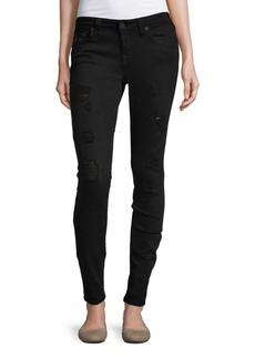 True Religion Distressed Skinny-Fit Jeans