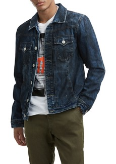 True Religion Brand Jeans Dylan Denim Jacket