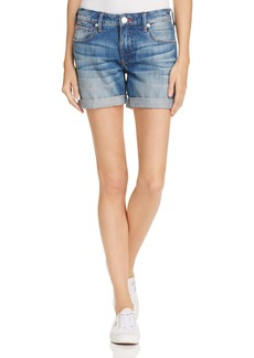 True Religion Emma Boyfriend Shorts in Blues Fest
