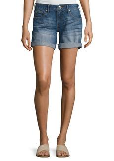 True Religion Emma Cuffed Bermuda Shorts