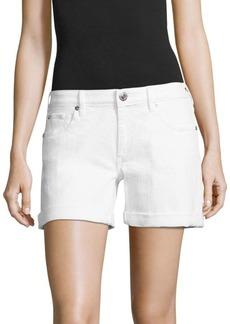 Emma Cuffed Denim Bermuda Shorts