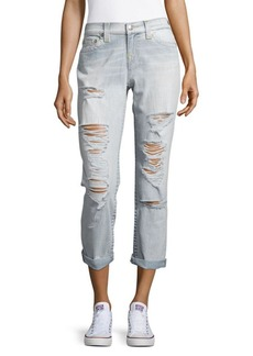True Religion Faded Boyfriend Jeans
