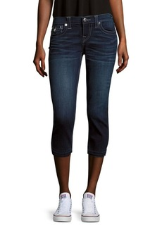 True Religion Faded Capri Jeans