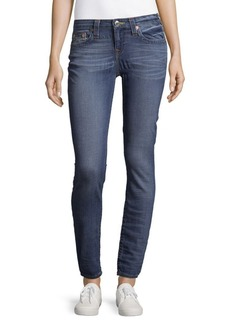 True Religion Faded Curvy Skinny Jeans