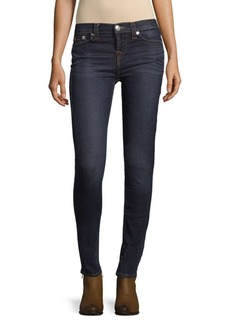 True Religion Faded High Rise Skinny Jeans