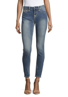True Religion Faded Skinny Jeans