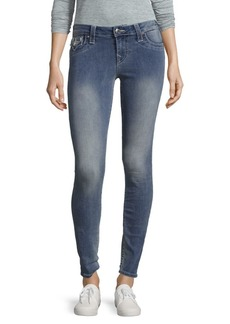 True Religion Faded Super Skinny Jeans