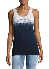True Religion Fashion Sense Graphic Tank Top