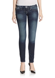 True Religion Flap-Pocket Skinny Jeans