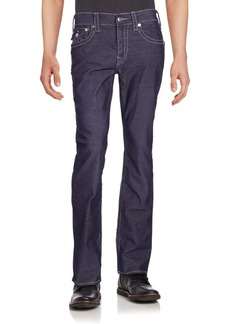 True Religion Flap-Pocket Straight-Fit Jeans