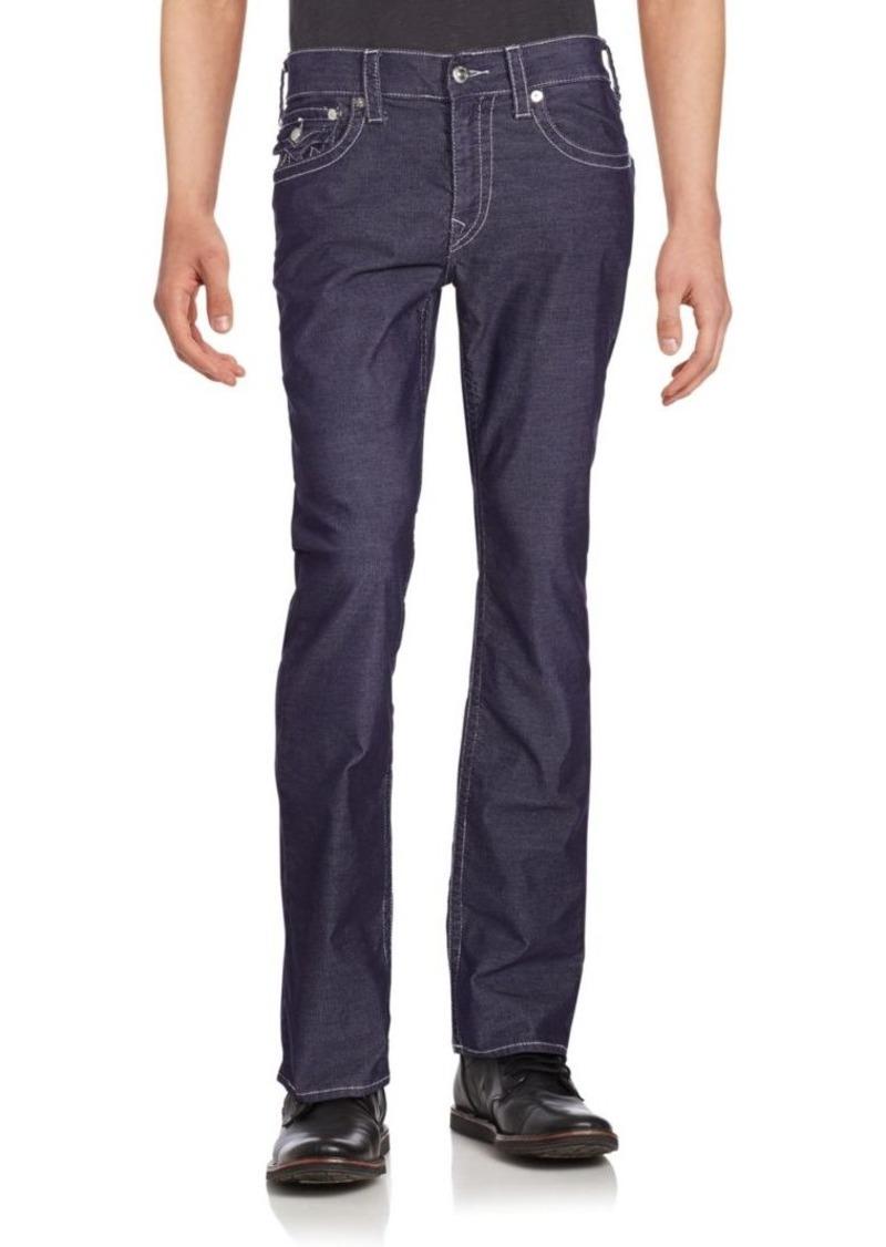 d2e1c04ed49 True Religion Flap-Pocket Straight-Fit Jeans