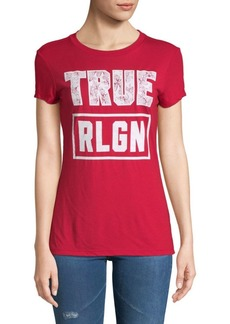 True Religion Floral Graphic Short-Sleeve Tee