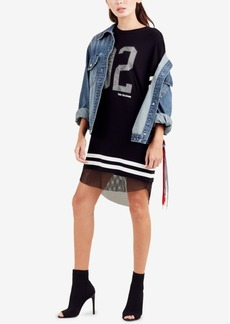 True Religion Football T-Shirt Dress