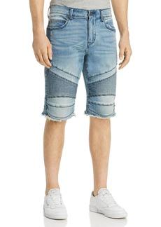 True Religion Gene Denim Moto Shorts