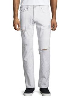 True Religion Geno Ripped & Worn Denim Jeans