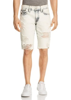 True Religion Geno Slim Fit Shorts in Worn Cloudfall