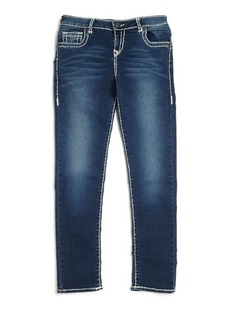 True Religion Girl's Casey Natural Slim-Fit Jeans