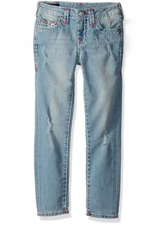 True Religion Girls' Casey Skinny Super T Jean