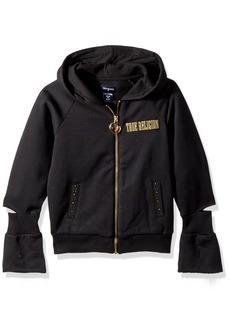 True Religion Girls' Logo Hoodie  M
