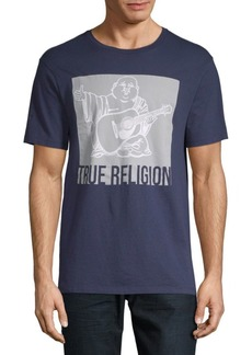 True Religion Graphic Cotton Tee