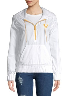 True Religion Graphic Half-Zip Jacket