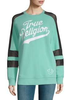 True Religion Graphic Long-Sleeve Pullover