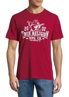 True Religion Graphic-Print Cotton Tee