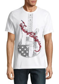 True Religion Guitar Cotton Tee