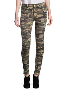 Halle Camo Super Skinny Jeans