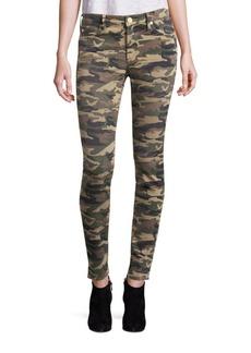 True Religion Halle Camo Super Skinny Jeans