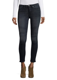 True Religion Halle Moto Crop Jeans