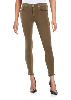 True Religion Halle Super Skinny Cropped Jeans